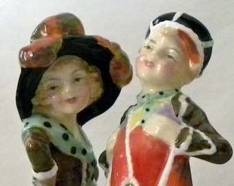 Royal Doulton Pearly Boy and Girl For Sale