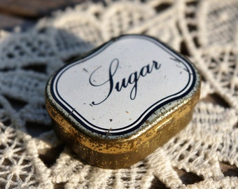 Old small box sugar - Vintage