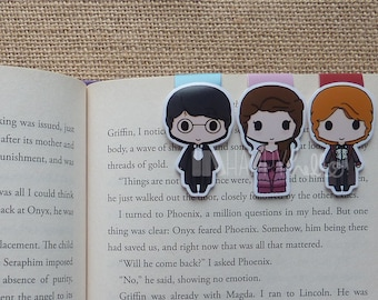 Magnetic Bookmarks • Fancy Wizard Party