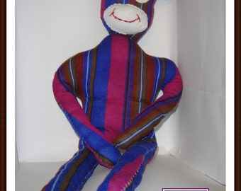 Sock Monkey Sewing Pattern, No Socks PDF, Not a Finished Product