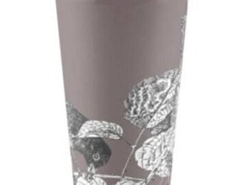 Blackberry Thief, travel coffee mug