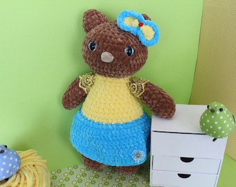 Kitty/Crochet Kitty/Crochet cat/Cat toy/Cat/Crochet toy/Amigurumi/Gift for girl/Plush toy/Plushy/Soft toy/Handmade toy/