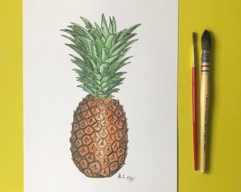 A4 Pineapple Print | Limited edition