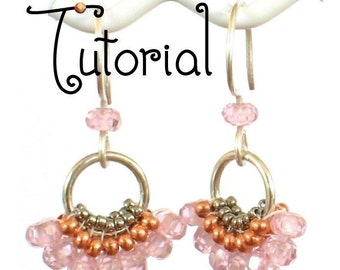 TUTORIAL -- Dancing Fan Earrings