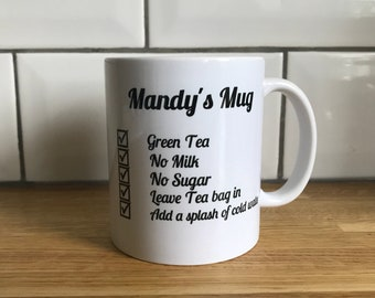 My perfect cuppa mug