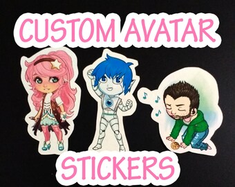 Custom Avatar Stickers