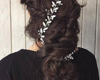 Bridal Hair Vine, Bridal Hairpiece, Wedding Headpiece