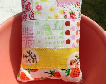 Patchwork pincushion small pincushion sewing gift sewing accessories gifts for her