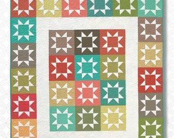 Stash Stars Quilt Pattern by Atkinson Designs