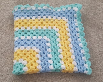 Baby blanket, hand crocheted blanket