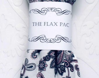 Heat Packs Cold Packs Microwavable with Flax Seed and Lavender