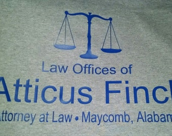 Law Offices of Atticus Finch T Shirt S-5XL