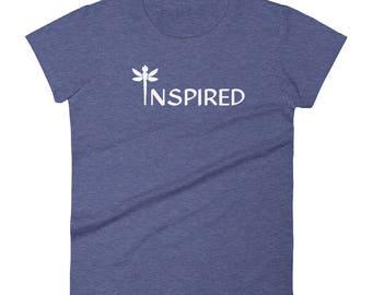 INSPIRED Dragonfly Women's Short Sleeve T-shirt