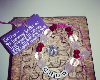 Grow Bead Bracelet