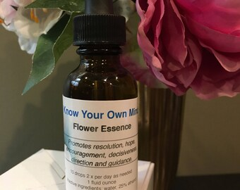 Know Your Own Mind Flower Essence
