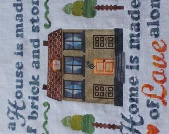 Home of Love Cross Stitch Pattern