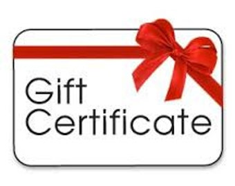 Gift Certificate for Moonjig Jewelry!