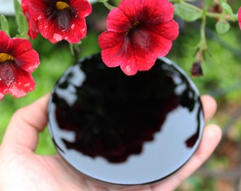 Natural Obsidian Small Scrying Mirror