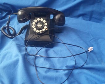 Vintage Style Working Push Button Telephone