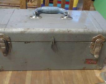 Vintage Union Super Steel Tool Box