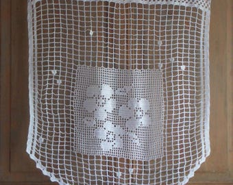 Handmade crochet curtain size XL flower Medallion