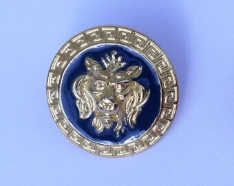 Set of 3 VERSACE buttons authentic, old and rare