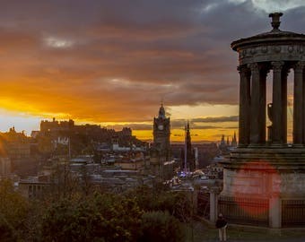 Duggald Stewart Monument Edinburgh