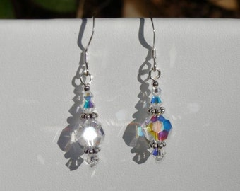 Perfect for Weddings Swarovski Crystal Sparkle Earrings