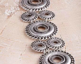 Boho Bracelet Bohemian Bracelet Bohemian Jewellery Silvered Bracelet