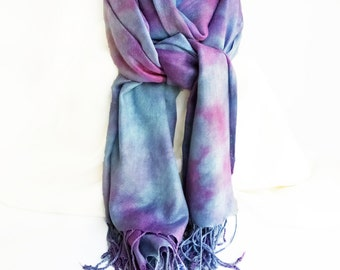 Trending now, blanket scarf, oversized scarf, blue scarves, purple scarves, vegan scarves, blue pashmina, scarf gift for wife