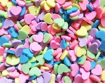 10g Pastel hearts for slime