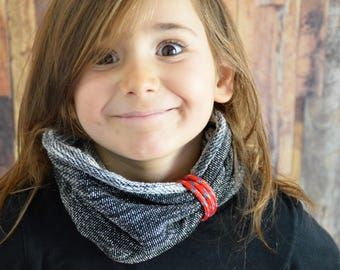 cowl,neckwarmers,scarf,kids hooded cowl,girls cowl,scarves,organic cotton clothing,outdoor,girls neckwarmer,girls scarf,organic cotton