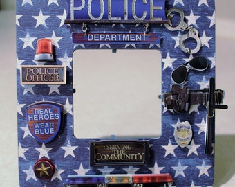 Policeman/ Police Officer /Law enforcement /Picture frame