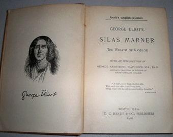 "Antique 1906 ""Silas Marner"" Hardcover Book"