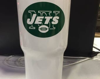 New York Jets 30 oz RTIC Tumbler