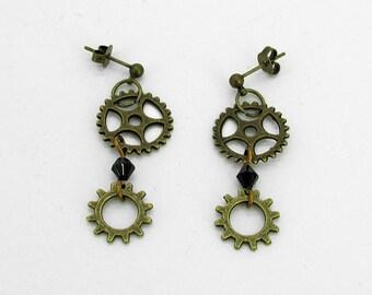 Lady Industrialist Earrings