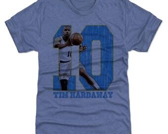 Tim Hardaway Shirt | Golden State Throwbacks | Men's Premium T-Shirt | Tim Hardaway Game B