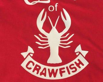 Queen of Crawfish Tee