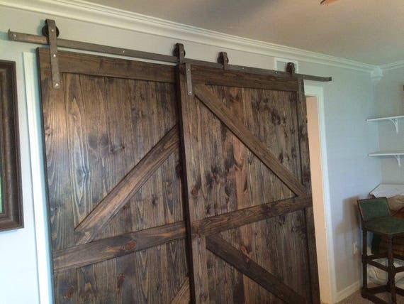 barn door ideas love her fresh what bypass did to make pin kit the doors room hardware barns sliding with them slidingclosetdoors i design in closet blend she