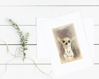 Chihuahua lover gift, Veterinarians gifts, chihuahua wall art, Veterinarian decor, Chihuahua art print, dog print poster, Chihuahua art