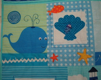 Quilted wall hanging.