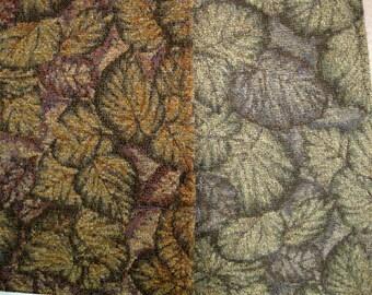 Sanctuary Leaf Botanical Kravet Designer Fabric Sample Chenille Upholstery Pick One