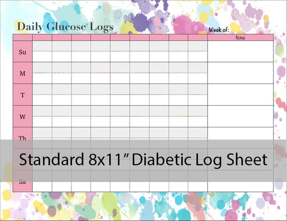 blood sugar log sheet printable juve cenitdelacabrera co