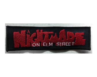 Nightmare On Elm Street patch Freddy Krueger 80's horror
