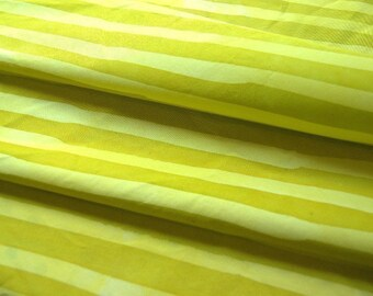 1 yard length of two stripes hand dyed fabric