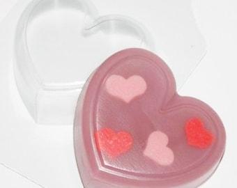 Big heart mold, heart mould, plastic heart molds, soap mould, love mold, heart love mold, romantic mold, heart shaped mold, love molds