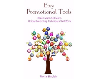 Etsy Promotional Tools Etsy Marketing Tips Techniques Selling on Etsy Shop Help ~ Etsy Shop Promotion ~ Sell on Etsy Guide Etsy PDF Download