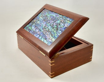 Jewellery Box, Jewellery storage, Earring Box, Earring storage, Cufflink Box, Ring Box, gift for her or him.