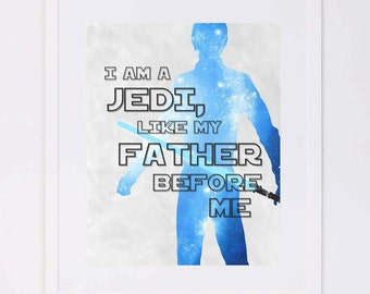 Star Wars, Luke Skywalker Digital Printable