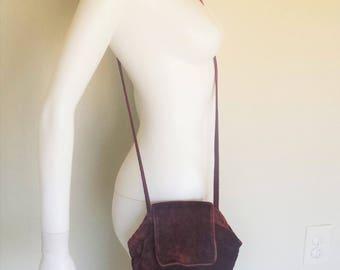gothic 80s velvet purse